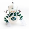 Item # 421192 - New York Jets Snowman Christmas Ornament