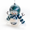 Item # 421194 - Philadelphia Eagles Snowman Christmas Ornament