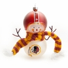Item # 421196 - Washington Redskins Snowman Christmas Ornament