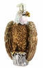 Item # 425033 - Blown Glass Bald Eagle Christmas Ornament