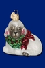 Item # 425049 - Blown Glass Little Lamb Ornament