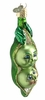 Item # 425054 - Blown Glass Two Peas In A Pod Ornament