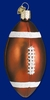 Item # 425088 - Blown Glass Football Christmas Ornament