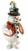 Item # 425106 - Blown Glass Mr. Frosty Snowman Ornament