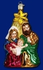 Item # 425173 - Blown Glass Holy Family Ornament
