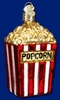 Item # 425273 - Blown Glass Popcorn Christmas Ornament