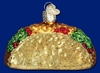 Item # 425360 - Blown Glass Taco Christmas Ornament