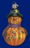 Item # 425424 - Blown Glass Mr. Jack O Lantern Christmas Ornament