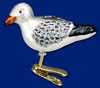 Item # 425496 - Blown Glass Sea Gull Ornament