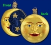 Item # 425511 - Blown Glass Man In The Moon Ornament