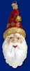 Item # 425539 - Blown Glass Sinterklaas Ornament