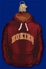 Item # 425634 - Blown Glass Virginia Tech Hokies Hoodie Ornament