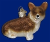 Item # 425635 - Blown Glass Pembroke Welsh Corgi Ornament