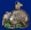 Item # 425686 - Blown Glass Armadillo Christmas Ornament
