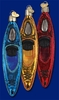Item # 425698 - Blown Glass Kayak Ornament