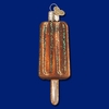 Item # 425762 - Blown Glass Chocolate Popsicle Ornament