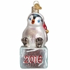 Item # 425861 - Blown Glass 2016 Cheerful Penguin Chick Ornament