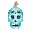 Item # 425871 - Blown Glass Day of the Dead Ornament