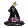 Item # 425874 - Blown Glass Witch's Hat Ornament