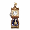 Item # 425896 - Blown Glass Hickory Dickory Dock Ornament