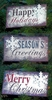 "Item # 431164 - 6"" L Holiday Sign"
