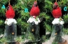 Item # 431209 - Cardinal On Clear Bell Ornament