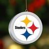 Item # 432036 - Pittsburgh Steelers 3D Logo Christmas Ornament