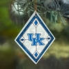 Item # 432086 - University of Kentucky Wildcats Art Glass Christmas Ornament