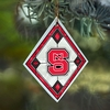 Item # 432089 - North Carolina State University Wolfpack Art Glass Ornament