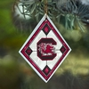 Item # 432092 - University of South Carolina Gamecocks Art Glass Ornament