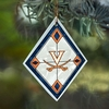 Item # 432093 - University of Virginia Cavaliers Art Glass Ornament