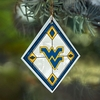 Item # 432096 - West Virginia University Mountaineers Art Glass Ornament