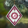 Item # 432151 - University of Alabama Crimson Tide Art Glass Christmas Ornament