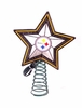 Item # 432206 - Pittsburgh Steelers Light Up Christmas Tree Topper