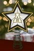 Item # 432255 - Appalachian State University Mountaineers Light Up Christmas Tree Topper