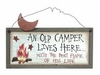 Item # 455008 - Camper's Best Flame Sign