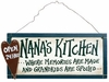 Item # 455089 - Nana's Kitchen Sign