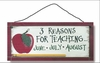 Item # 455095 - Reasons To Teach Sign