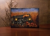 Item # 455220 - Lighted Harvest Wagon Canvas Wall Hanging