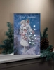 Item # 455272 - Lighted Compliments Of Season Canvas Wall Hanging