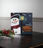 Item # 455422 - Snowbusiness Lighted Canvas Wall Hanging
