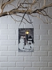 Item # 455526 - Lighted Snow Welcome Ornament