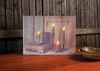Item # 456048 - Shine Your Light Lighted Canvas Wall Hanging