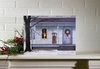 Item # 456056 - Lighted Winter Porch Canvas Wall Hanging