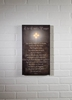 Item # 456068 - Lighted The Lords Prayer Canvas Wall Hanging