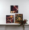 Item # 456090 - Lighted Signs Of Christmas Canvas Wall Hanging
