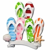 Item # 459011 - Flip Flop Family Of 6 Christmas Ornament