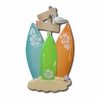 Item # 459013 - Surf Board Family Of 3 Christmas Ornament