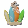 Item # 459014 - Surfboard Family of 4 Christmas Ornament