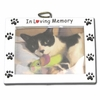 Item # 459019 - In Loving Memory Pet Photo Frame Christmas Ornament